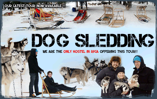 RIGA DOGSLEDDING TOURS